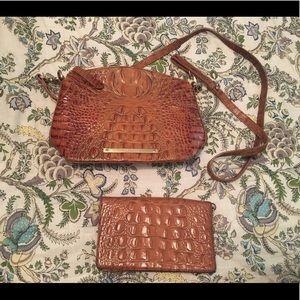 Brahmin Mini Sydney and wallet
